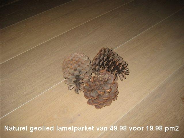 Lamelparket voor maar €19,98